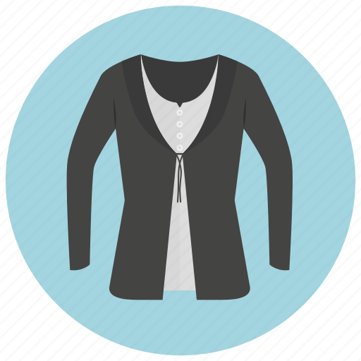 cardigan, clothes, fashion, jacket, shirt, sweater, top icon