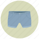 blue shorts, clothes, fashion, hot pants, hotpants, jeans, pants, shorts icon