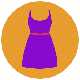 clothes, cocktail dress, dress, fancy, fashion, girl, party dress icon