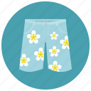 beach, clothes, fashion, men, shorts, summer, swim, swim shorts icon
