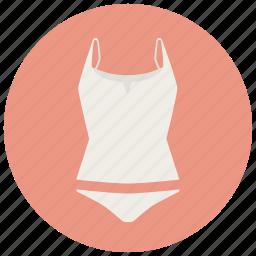 clothes, fashion, top, underwear, women icon