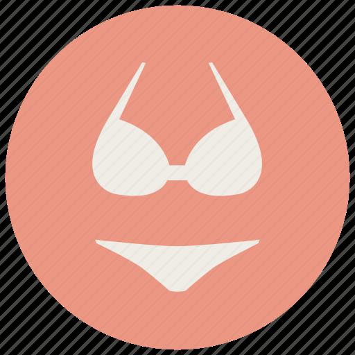 bra, clothes, fashion, underwear, women icon