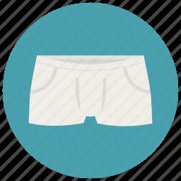 boxers, clothes, laundry, men, trunks, underpants, underwear icon