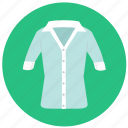 blouse, business look, clothes, fashion, polo shirt, poloshirt, shirt, sweater, top, tshirt icon