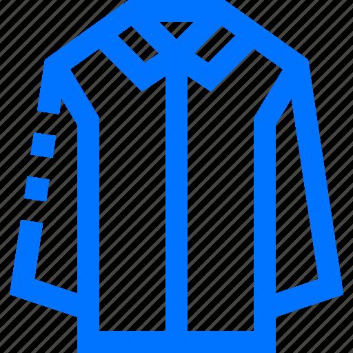 clothes, laundry, long, shirt, sleeve icon