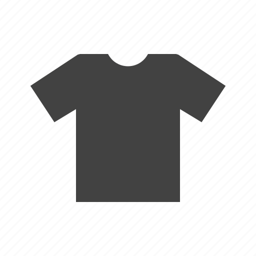 casual, clothes, plain, shirt, t shirt, wear icon