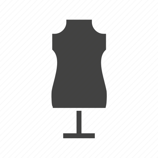 boutique, dress, holder, mannequin, model icon