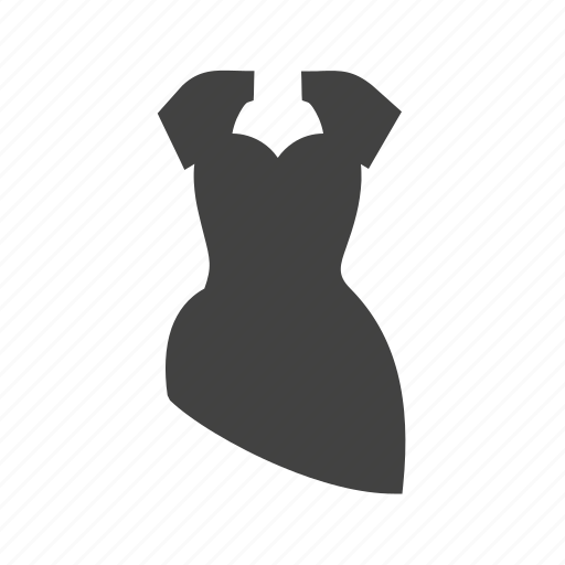 cocktail, dress, formal dress, formal wear, gown, ladies dress, wedding dress icon
