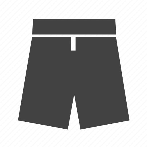 beach wear, casual wear, khakis, pants, shorts, sport wear icon