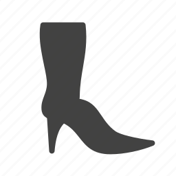 boots, cowboy boots, fashion, heels, long, long boots icon