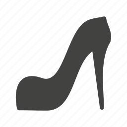 fashionable shoes, heels, high heels, stilletos, stylish shoes icon