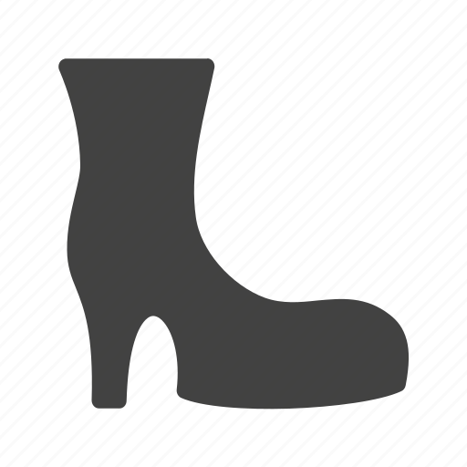 boots, cowboy boots, heels, high heels, stylish boots icon
