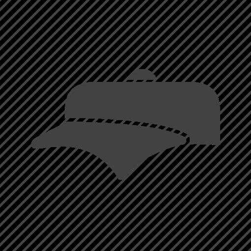 cap, hat, men's cap, p cap, sports cap icon
