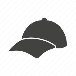 cap, hat, men's cap, p cap, sports cap icon