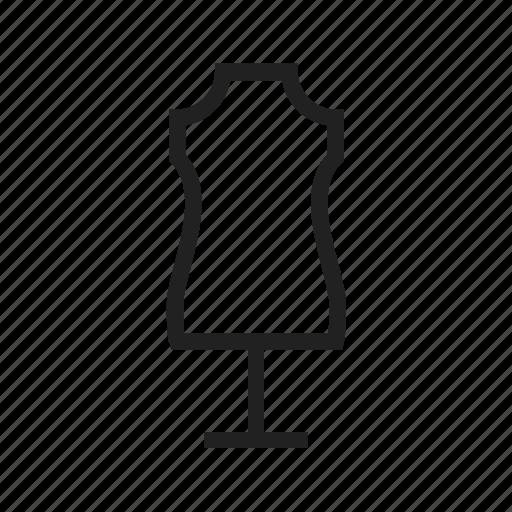 boutique, dress, holder, mannequin, model icon