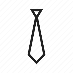 banker's tie, business, official, suit, suited, tie icon