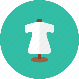 2, clothes, stand icon