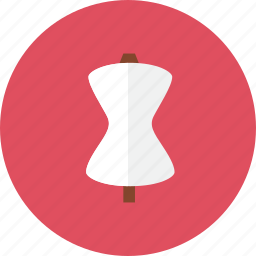 clothes, stand icon