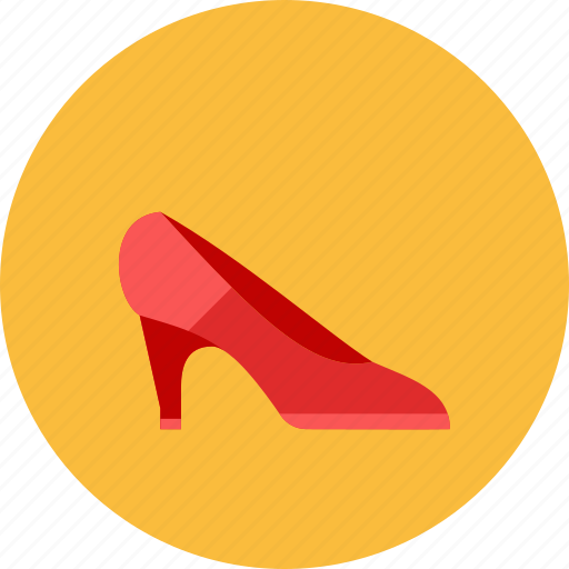 girl, shoes icon