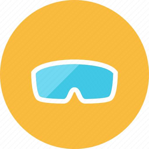 glasses, safety icon