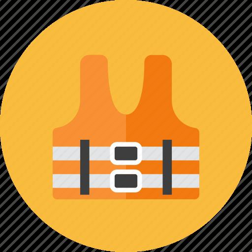 safety, vest icon