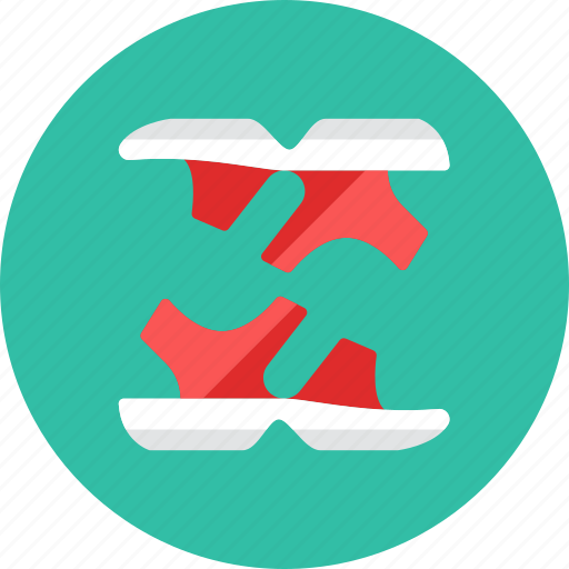 2, sandals icon
