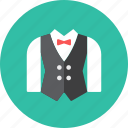 suit, waiter icon