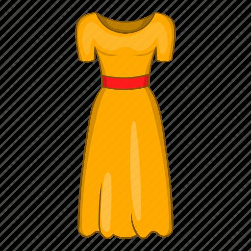 cartoon, clothing, dress, fancy, fashion, sign, womens icon