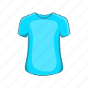 cartoon, cloth, mens, shirt, sign, summer, t-shirt icon