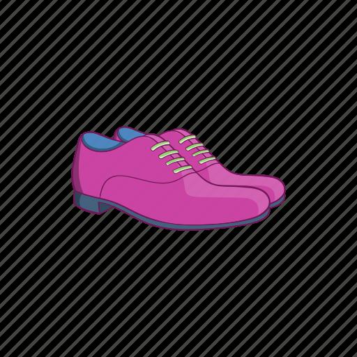 cartoon, classic, fashion, footwear, mens, shoes, sign icon