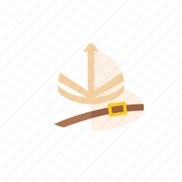 explorer, hat icon