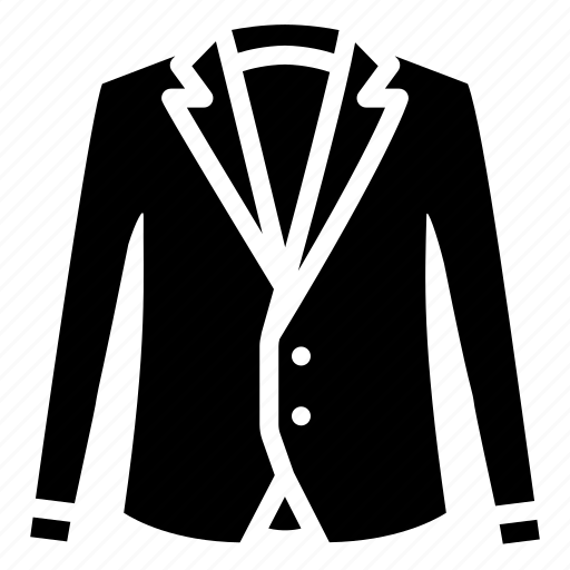 Blazer, clothes, formal clothes, men, outerwear, suit, tops icon - Download on Iconfinder