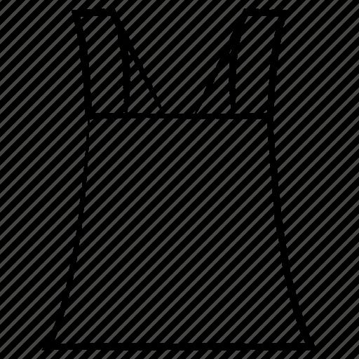 dress, garments, shirt, top icon