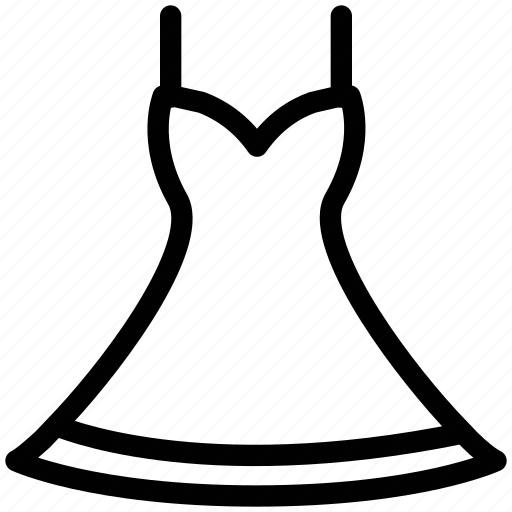baby doll, clothing, cocktail, halter, ladies, sexy, spaghetti strap dress icon