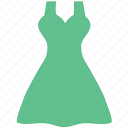 a-line, babydoll dress, clothes, clothing, ladies, party wear icon