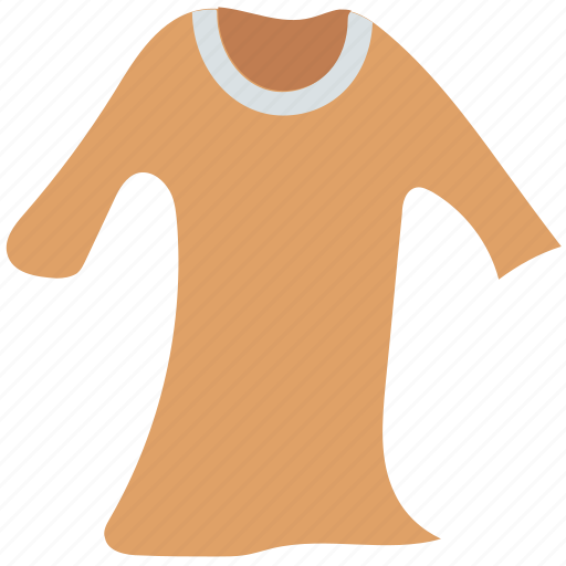 clothes, clothing, dress, house dress, shift dress, women icon