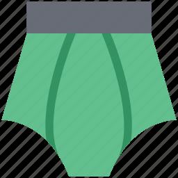 pantie, underclothes, undergarments, underpants, underthings, undies icon