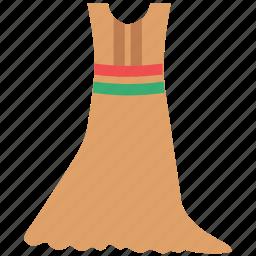 clothing, dress, garment, maxi, mermaid, women icon