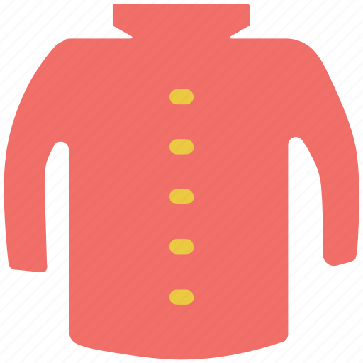cardigan, coat, dress coat, woolen icon