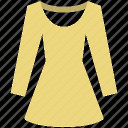 blouse, chemise, shirt, tunic, women clothing icon