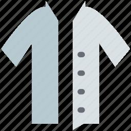 cardigan, jersey, sweater, v-neck, winter wear icon