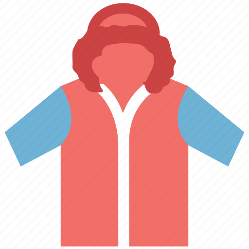 coat, hoodie, kids, pullover, windproof icon