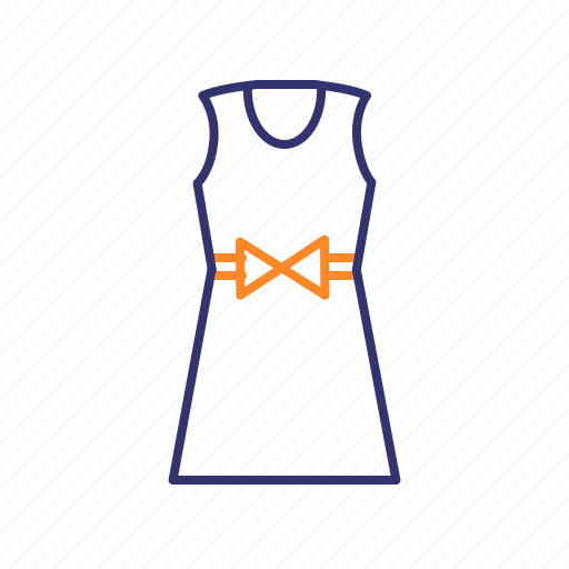 apparel, clothes, clothing, dress, gown icon