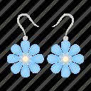 earrings, jewel, jewelry icon