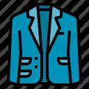 blazer, clothing, coat, fashion, suit icon