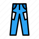 cloth, garments, jeans, pant, trouser icon