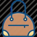 bag, case, ladies bag, leather, purse, woman, woman bag icon icon