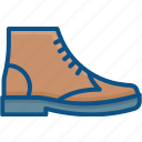 fashion, footwear, leather, male, mens, shoe icon icon