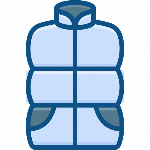 clothes, cold, jacket, wear, winter icon icon