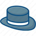 cap, fedora, fedora hat, gangster hat, hat, hipster hat icon icon